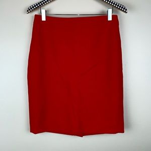 J. Crew Factory Double Serge Pencil Skirt V3317